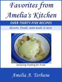 "Cover of ""Favorites from Amelia's Kitchen"""